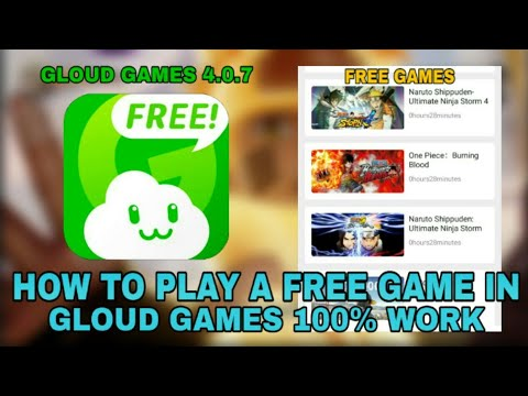 [DOWNLOAD] NEW UPDATE GLOUD GAMES 4.0.7 UNLOCK FREE ALL GAME ANDROID 2020