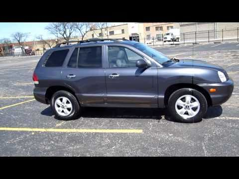 2005 hyundai santa fe for sale chicago clean 68k miles leather awd youtube. Black Bedroom Furniture Sets. Home Design Ideas