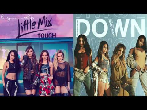 Touch Down - Fifth Harmony and Little Mix Mashup!