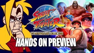 STREET FIGHTER 30TH ANNIVERSARY COLLECTION: Gameplay & Preview w/Maximilian