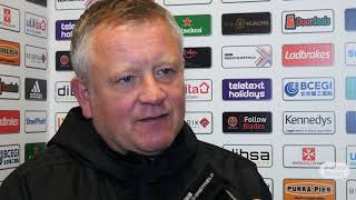 Chris Wilder on Paul Coutts injury