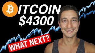 BITCOIN RALLIES TO $4300! MAKE OR BREAK TIME!?