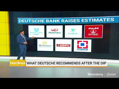 What Deutsche Bank Recommends After The Dip