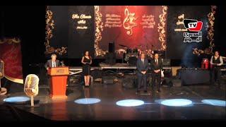 سمير صبري وايمان البحر درويش في افتتاح مهرجان إسكندرية الدولى للأغنية