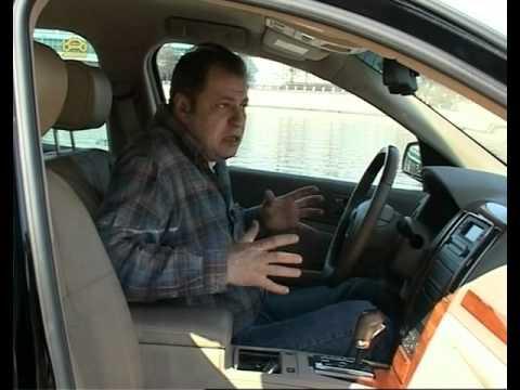 Тест-драйв  Cadillac STS & Jeep Commander