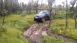 Suzuki Grand Vitara на бездорожье, взятие точки.(, 2016-09-11T19:36:21.000Z)