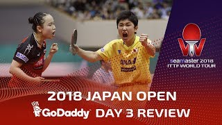 2018 Japan Open I Final Day Review presented by GoDaddy