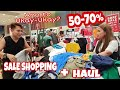 Sale Items Shopping Sa Sm Moa   Haul & Try-on | Vlog #04