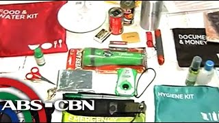 Ano ang mga dapat ilagay sa inyong emergency kit?