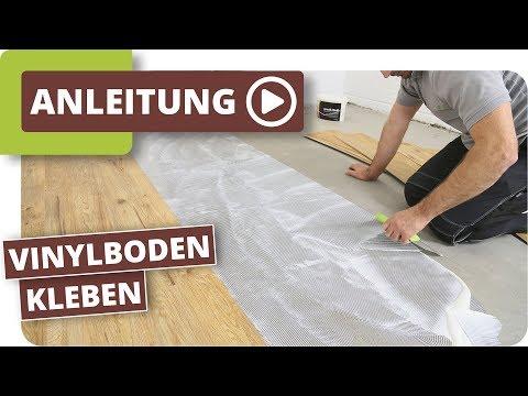 Top Vinylboden kleben - Verlegeanleitung für Vinyl-Sheets - YouTube OE21