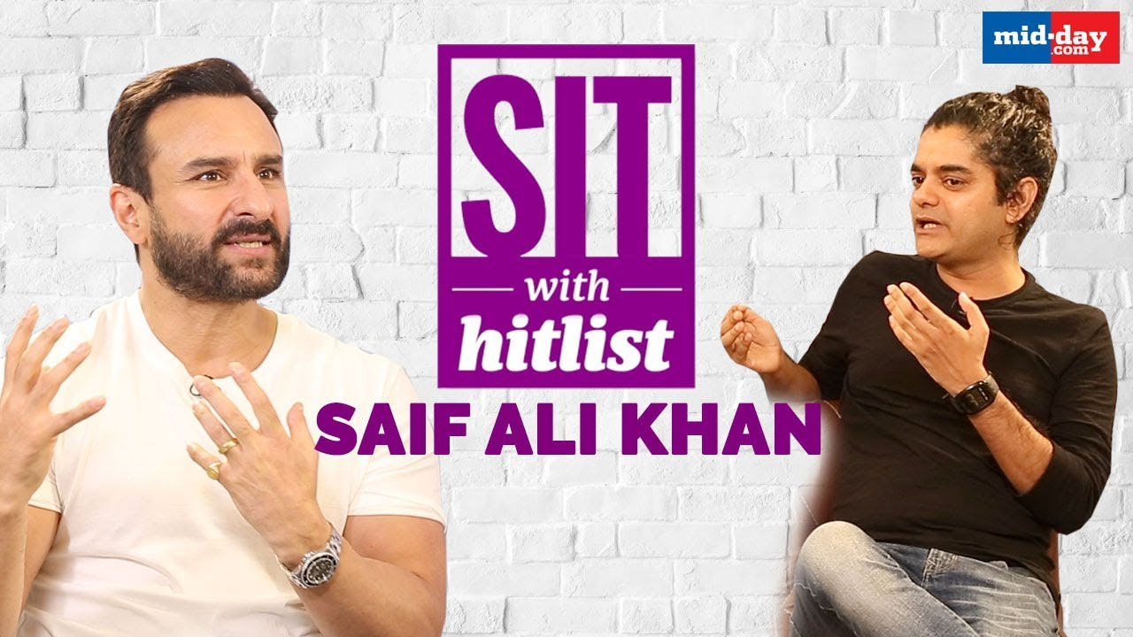 Download Saif Ali Khan on ex wife Amrita, nepotism, Sacred Games and more | Full interview | Sit With Hitlist