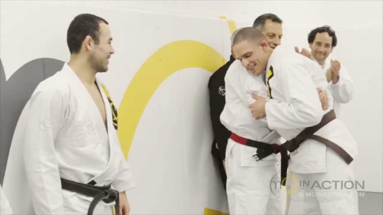 Marcelo Garcia's 1st Brown Belt — Philzinho Balmant - YouTube
