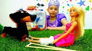 София Прекрасная - Принцессы Диснея лечат куклу