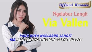 Karaoke ~ NGELABUR LANGIT _ tanpa vokal   |   Official Karaoke
