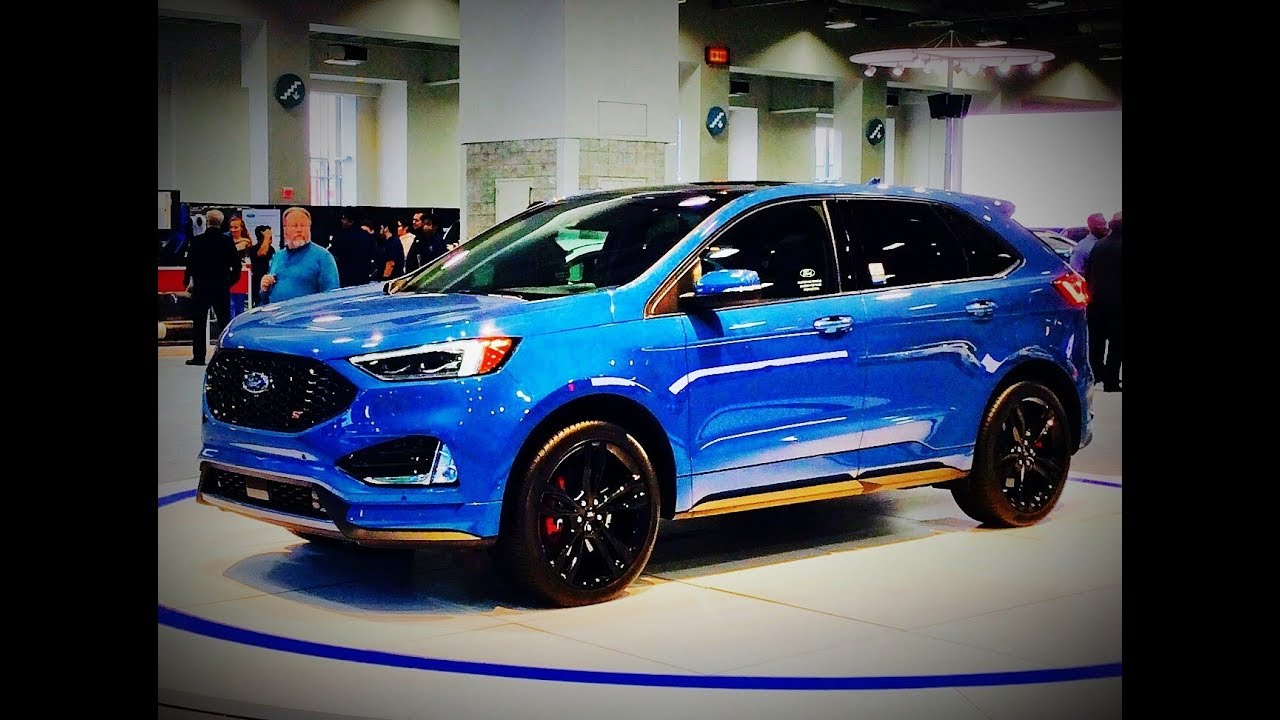 Ford Edge St Twin Turbo V Tour Fords First Ever Performance Suv