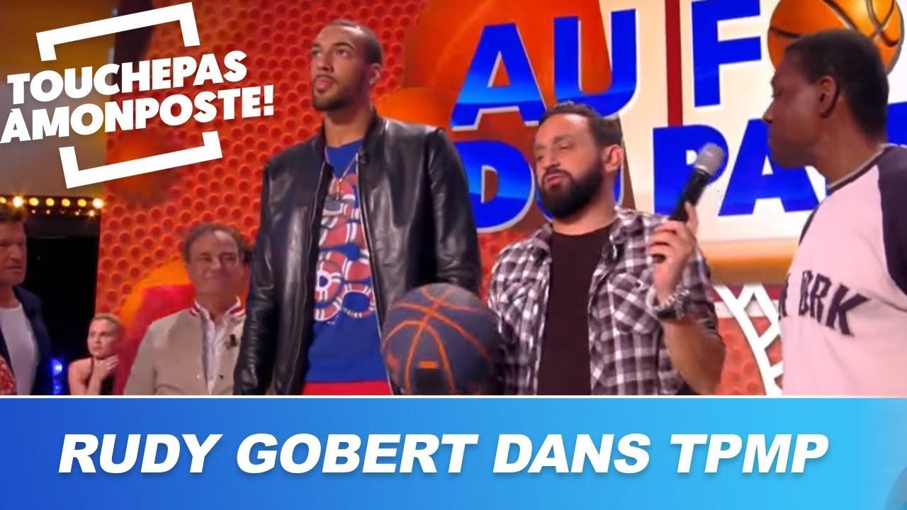 TPMP se transforme en match de basket avec Rudy Gobert