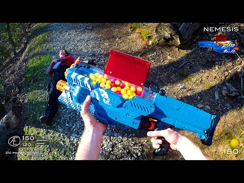 Thumbnail: EPIC NERF GUN GAME: MODDED MAYHEM (First Person Shooter)