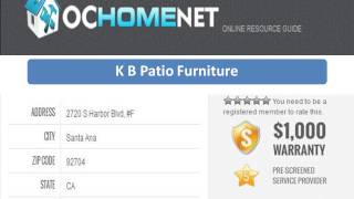 Oc Home Net   Patio Furniture, Cabinets, Glass And Mirrors Orange County