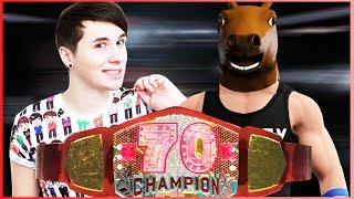 Danisnotonfire vs Henry Horseman | N70K Title | WWE 2K17 | [s6e3]