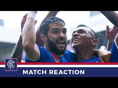 REACTION   Daniel Candeias   Rangers 3-1 Hearts