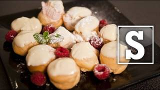 WHITE CHOCOLATE PROFITEROLES RECIPE - SORTED