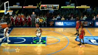 NBA Jam review Xbox 360 vs Wii