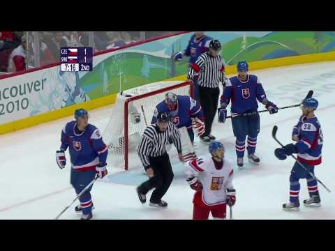 Czech Republic 3-1 Slovakia - Men's Ice Hockey   Vancouver 2010 Winter Olympics