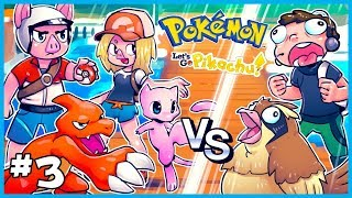 Pokemon Let's Go Pikachu Let's Play  w/ NOGLA [EP. 3] - We get MEW & Continue Our Adventure!