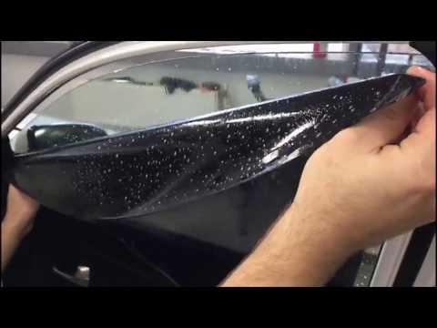 Тонировка стекол автомобиля в Санкт-Петербурге #automotivespb
