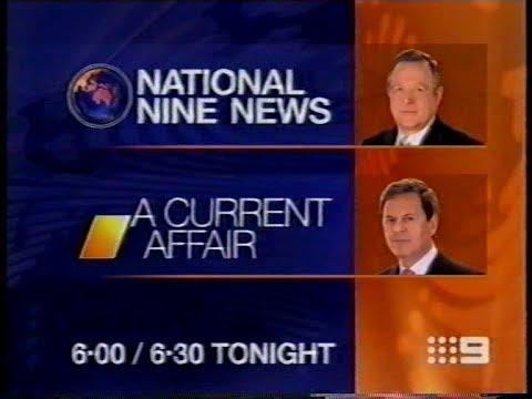 National Nine News Melbourne A Current Affair Update Promo 772005