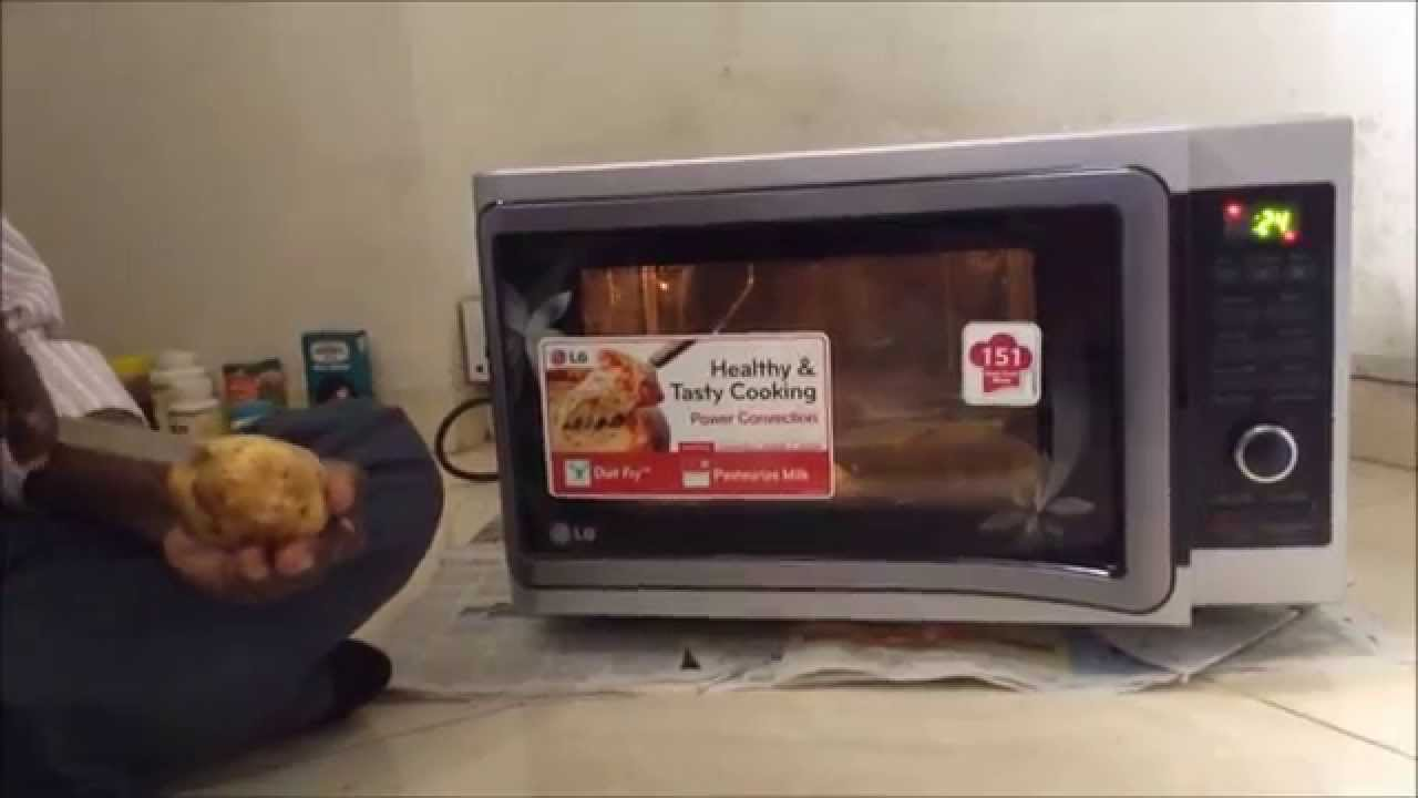 How To Use Lg Microwave Convection 2 Demo