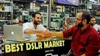 Best DSLR Market in Pakistan- Let's Explore with Taj