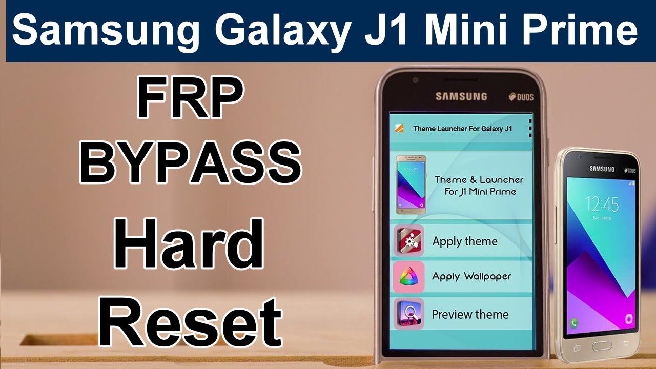 Samsung Galaxy J1 Mini Prime Frp Bypass Sm J106h Google Account Bypass Gmail Bypass Unlock Pattern Youtube