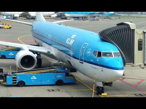 KLM Royal Dutch Airlines KL1008 London Heathrow to Amsterdam Schiphol *Full Flight*