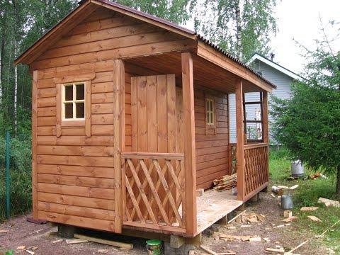 Хозблок для дачи Эко-домик №7 Туалет-душ. Код 205007