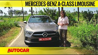 2021 Mercedes-Benz A-class Limousine review - The rising star I First Drive I Autocar India