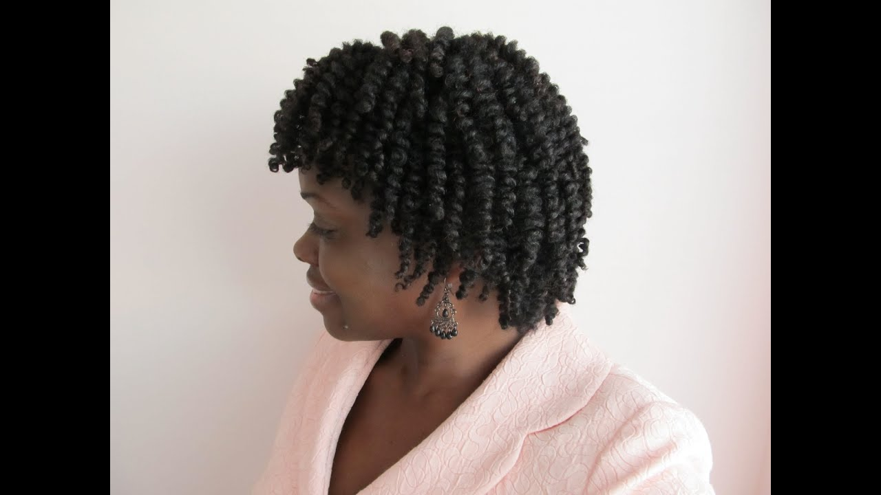 Natural Hair Finger Coils Cantu Shea Butter Leave In Setting My Twists Twistout