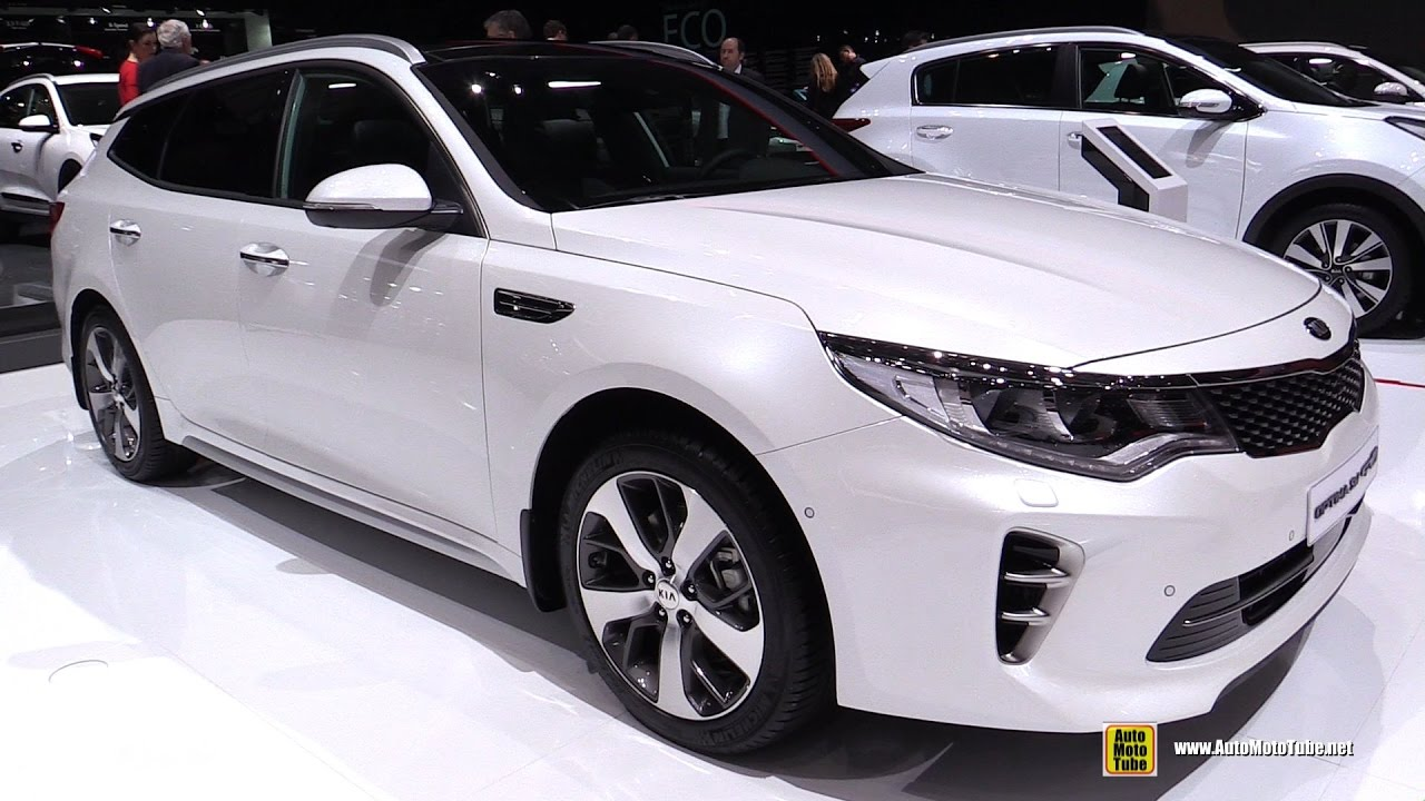 2017 kia optima sw gt line exterior and interior walkaround 2017 geneva motor show youtube. Black Bedroom Furniture Sets. Home Design Ideas