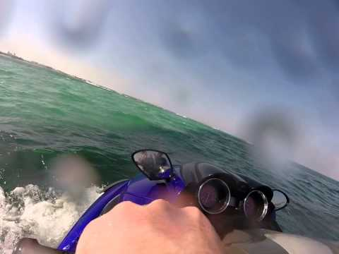 Jet skiing Somewhere off the coast of Qatar