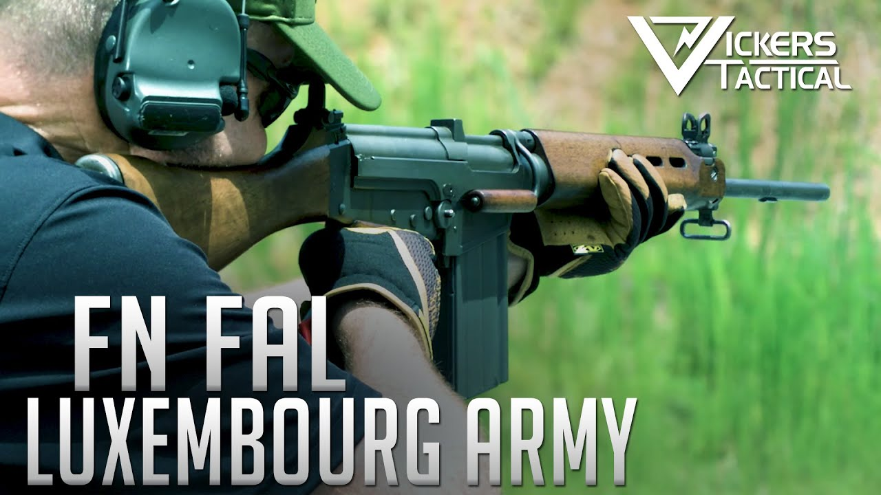 Luxembourg Army FN FAL