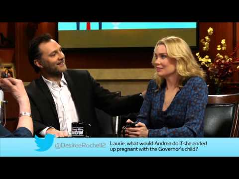 "David Morrissey & Laurie Holden of ""The Walking Dead"" Answer Fan Questions 