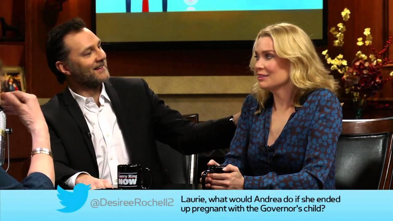 David Morrissey Amp Laurie Holden Of Quot The Walking Dead