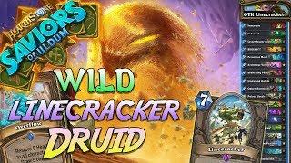 Wild OTK Linecracker Druid Deck   Saviors of Uldum   Hearthstone