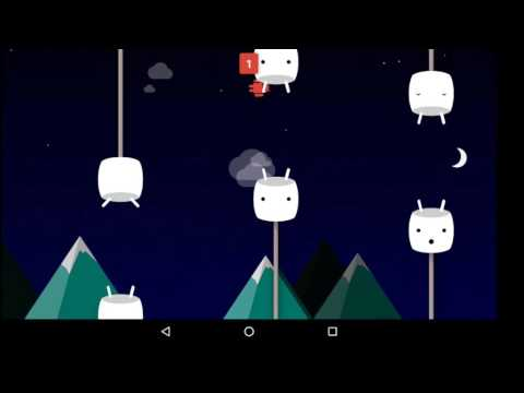 Android 6 Marshmallow Easter Egg (hidden Game)