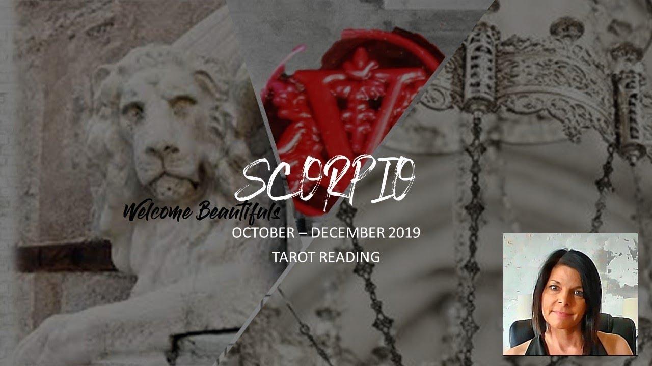 november 2019 tarot for scorpio