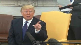 شاهد: ترامب يطرد مراسلا صحفيا