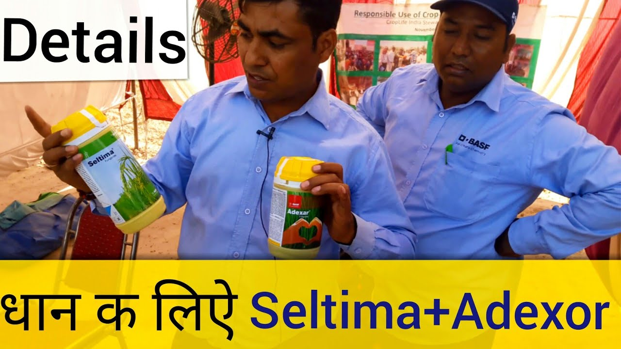 #Part5 BASF Adexor and seltima Fungicide for paddy (Patiala Kisan mela  19 03 2018)