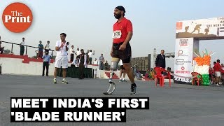 Meet India's 'Blade Runner', Major D.P. Singh, a marvel with a prosthetic blade