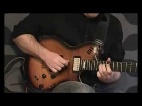 Twisted blues with Elmwood Stinger and Godin Lgx-sa