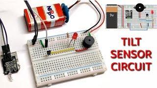 "How to make a ""Tilt Sensor"" on a Breadboard."